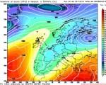 Analisi modelli GFS00Z:  alle porte una fase instabile con maltempo diffuso, possibile maltempo a oltranza? 3 novembre 2016