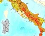 mappa rischio sismico