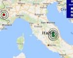 Terremoto oggi Umbria e Piemonte 11 novembre 2016 scossa M 3.5 a Norcia (Perugia), M 3.0 in provincia di Cuneo - Dati Ingv