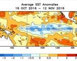 La Niña è iniziata ufficialmente nel Pacifico equatoriale sarà un evento breve e poco intenso