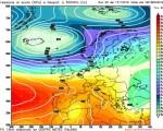 Analisi modelli GFS00Z:  Confermato il peggioramento di sabato, possibile nuovo maltempo al Nord Ovest da lunedì