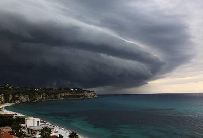 In arrivo ondata di maltempo su tutta la Sicilia$