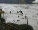 MALTEMPO ITALIA  alluvioni al Nord Ovest con anche il Po in piena, esonda il Bormida