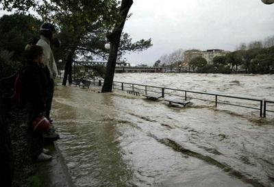 Maltempo Liguria: pescatore scomparso a Lavagna