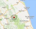 Terremoto oggi Marche 25-11-2016  scossa M 3.1 in provincia di Macerata - Dati Ingv ora