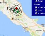 Terremoto oggi Marche 28 novembre 2016  scossa M 3.6 in provincia di Macerata - Dati Ingv ora