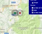 Terremoto oggi Marche 29-11-2016  scossa M 3.6 in provincia di Ascoli Piceno - Dati Ingv ora  Ultime news Lazio ed Umbria