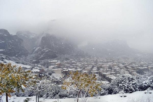Anche in Grecia e Turchia è arrivato il freddo e l inverno con la neve che  ha imbiancato fino a bassa quota. e095e27ac44