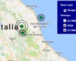 Terremoto oggi Umbria 2-12-2016 scossa M 2.8 a Norcia - Dati Ingv ora