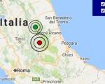 Terremoto oggi Abruzzo 5 dicembre 2016  scossa M 3.0 provincia de L'Aquila - Dati Ingv ora