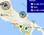 Terremoto oggi Basilicata ed Umbria 6 dicembre 2016  scossa M 3.8 a Potenza, M 3.2 Preci - Dati Ingv ora