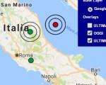 Terremoto oggi Marche 7 dicembre 2016  scossa M 3.1 in provincia di Macerata - Dati Ingv ora