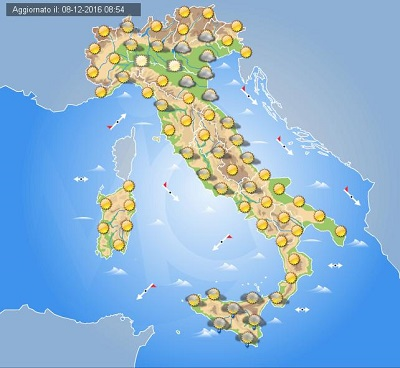 Meteo Napoli: Previsioni fino a Martedi 06 Dicembre