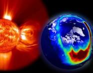 Tempesta geomagnetica in arrivo sulla Terra, possibili interruzioni alle reti satellitari. Comunicato NOAA : attesi nelle prossime ore frequenti disturbi e rischi anche per la rete elettrica 24 dicembre 2016