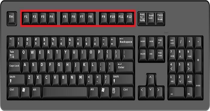Risultati immagini per combinazioni tastiera f 12