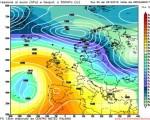 Analisi modelli GFS00Z:  tempo più stabile nel week-end, poi situazione incerta con l'Italia ai margini di una circolazione fredda 29 dicembre 2016
