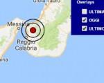 Terremoto oggi Calabria 29 dicembre 2016 scossa M 3.4 in provincia di Reggio Calabria - Dati Ingv ora