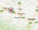 Terremoto oggi Emilia Romagna 3 gennaio 2017  scossa M 2.6 in provincia di Reggio Emilia - Dati Ingv ora