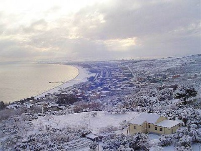 Previsioni meteo Molise: gelo in arrivo, attese nevicate fino a Termoli