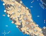 NEVE anche abbondante in arrivo sul CENTRO ITALIA: accumuli fin sulle coste e gelo ovunque. Vediamo le città che si imbiancheranno.