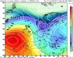 Analisi modelli GFS00Z: breve fase atlantica nel medio periodo con pioggia neve al Centro-Nord 5 gennaio 2017