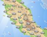 NEVE al CENTRO ITALIA: nuovo impulso freddo nelle prossime ore con neve a bassa quota, attenzione anche al versante tirrenico.