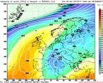 Analisi modelli GFS00Z: prolungata fase fredda e instabile alle porte sulle regioni del Centro-Sud - 12 gennaio 2017