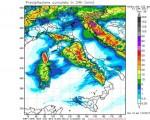 Maltempo in arrivo al Centro Italia con allerta meteo soprattutto per Toscana, Umbria e Lazio. Neve abbondante sull'Appennino.