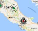 Terremoto oggi Molise 12 gennaio 2017 sequenza sismica a Campobasso, scossa M 3.1 - Dati Ingv ora
