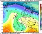 La circolazione depressionaria vista da GFS06z sul Mediterraneo per Martedi prossimo.