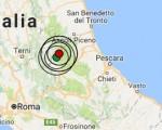 Terremoto oggi Lazio 19 gennaio 2017 scossa M 3.5 ad Amatrice - Dati Ingv ora