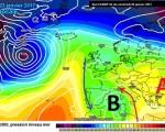 La circolazione depressionaria presente fra nord Africa e Isole Baleari all'inizio della prossima settimana, apportando correnti più miti di scirocco sulla nostra Penisola e una nuova fase di Maltempo, specie al sud.