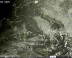 Tempo in atto: ancora qualche pioggia al Centro-Sud con neve sui rilievi. Generale miglioramento a seguire su tutta l'Italia.