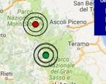 Terremoto oggi Lazio 21 gennaio 2017  scossa M 3.3 ad Amatrice - Dati Ingv ora