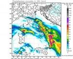 MALTEMPO al SUD ITALIA con piogge, temporali e locali nubifragi nelle prossime ore. Vediamo il dettaglio sulle regioni più colpite.