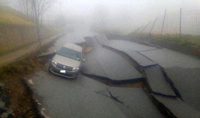Maltempo: crolla strada a Girifalco, Comune convoca tavolo di lavoro