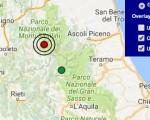 Terremoto oggi Umbria 24 gennaio 2017  scossa M 2.9 a Norcia - Dati Ingv ora