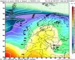 Analisi modelli GFS00Z:  fase anticiclonica in vista dopo un week end più instabile su alcune regioni 26 gennaio 2017