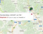 Terremoto oggi in Toscana, sequenza di scosse over M 2.0 in provincia di Arezzo. Sezione terremoti del Centro Meteo Italiano. Dati Ingv