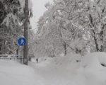 Cesena sommersa dalla neve. Foto di Daniele Tonti via www.meteogiornale.it