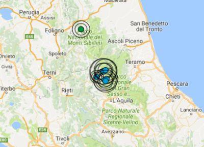 Terremoto, altre forti scosse nel Maceratese