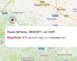 Terremoto oggi Emilia Romagna, scossa in provincia di Parma nel pomeriggio