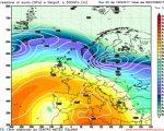 Analisi modelli GFS00Z:  permane stabilità atmosferica ma con qualche disturbo nel fine settimana 13 febbraio. Nella prossima settimana tornano anticiclone e clima asciutto 16 febbraio 2017
