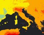 Mappa riferita all'inquinamento a cura dell'OMS,