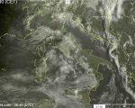Tempo in atto: perturbazione in arrivo sull'Italia con piogge soprattutto al Nord-Est e sul Centro, neve in montagna.