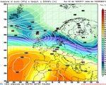 Analisi modelli GFS00Z:  ancora stabile nei prossimi giorni, poi neve e maltempo in arrivo? L'affondo di aria più fredda dai quadranti settentrionali potrebbe determinare un colpo di coda dell'inverno 18 febbraio 2017