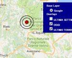 Terremoto oggi Abruzzo 18 febbraio 2017  scossa M 3.0 provincia dell'Aquila - Dati Ingv