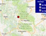 Terremoto oggi Abruzzo 21 febbraio 2017  scossa M 2.2 provincia dell'Aquila - Dati Ingv
