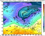 Analisi modelli GFS00Z:  imminente fase instabile, poi un periodo dinamico tra brevi anticicloni e aria atlantica 23 febbraio 2017
