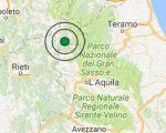 Terremoto oggi Lazio 23 febbraio 2017, scossa M 3.5 provincia di Rieti - Dati Ingv
